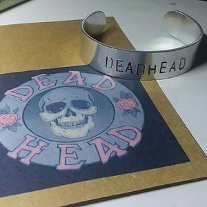 """""""Dead Head"""" Metal Bracelet"""